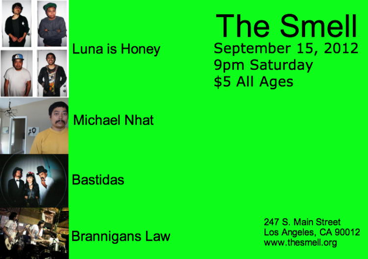 I go on 3rd @The Smell