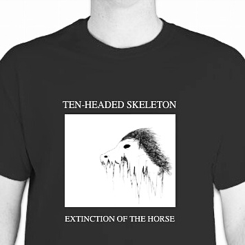 extinction-of-the-horse-tee-shirt