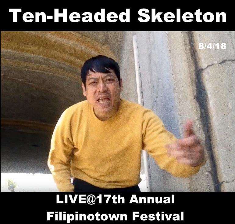 Filipinotown fest live flyer