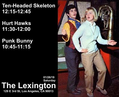 Lexington Show flyer