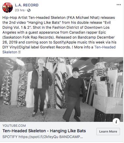 LA Record Press