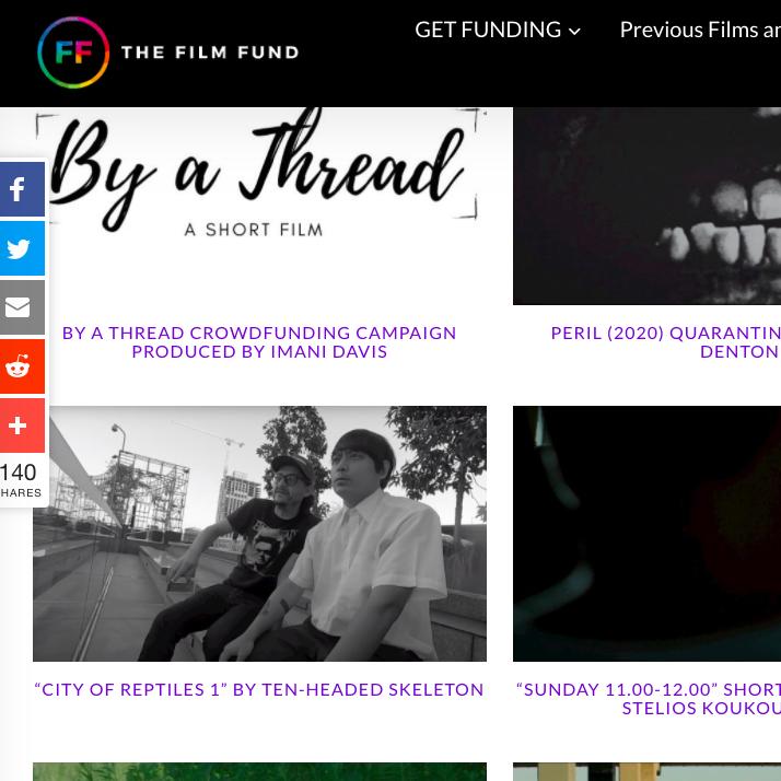 City of reptiles film fund screenshot